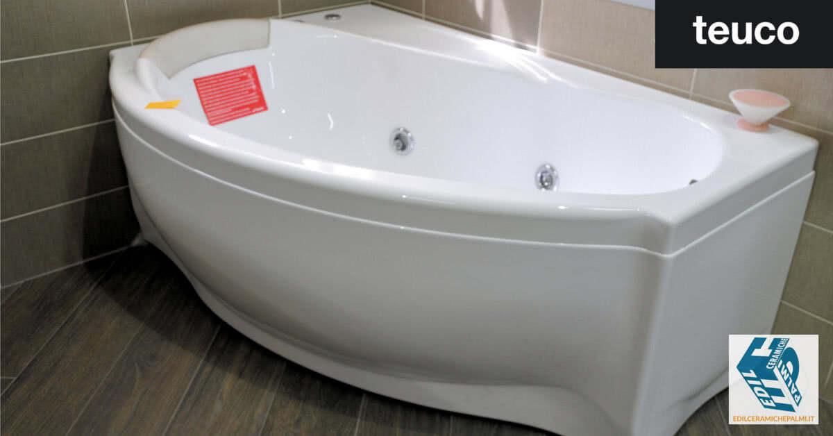 Prezzi Vasca Da Bagno In Ceramica : Teuco: vasca idromassaggio 283 edil ceramiche palmi