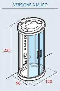Dimensioni-Novellini-Ares-1-Cromolight-Plus