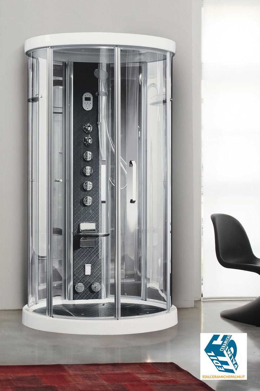 Novellini Ares 1 - cabina doccia con SAUNA e Idromassaggio