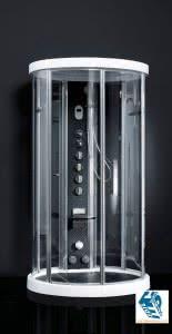 cabina-doccia-sauna-Novellini-Ares-1-Cromolight-Plus
