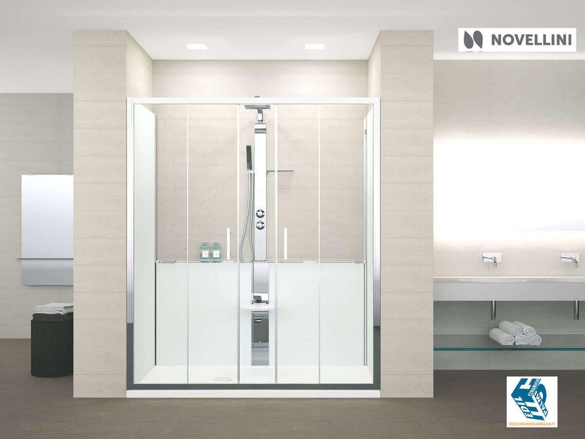 Sostituzione Vasca Da Bagno Prezzi : Trasformazione da vasca in doccia con novellini revolution