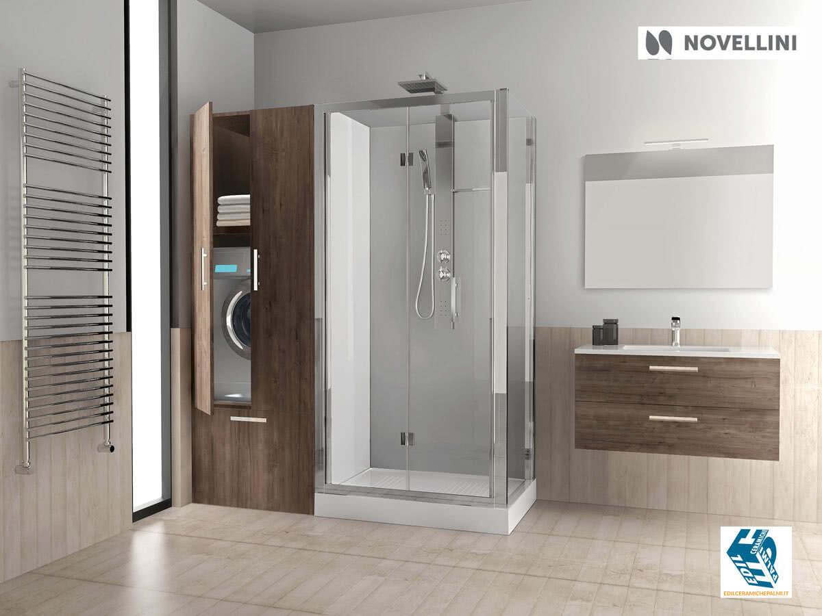 Progetto bagno con vasca e doccia dy52 regardsdefemmes - Vasca doccia da bagno ...