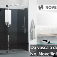 Come trasformare la vasca in doccia in modo semplice ed economico: Novellini Revolution