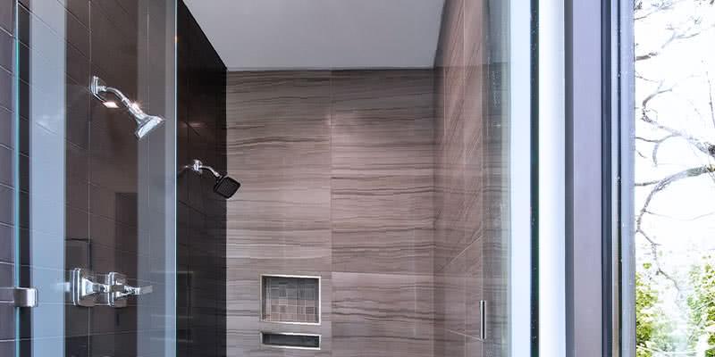 doccia pareti in legno