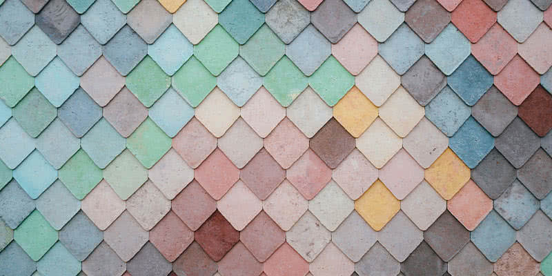 rivestimento pavimenti colorato